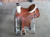 I have a nice roping saddle made by western star like