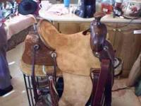 Solid hand made saddle made to your specifications and