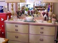 This is a very pretty dresser! One of a kind, the