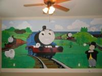 Description HAND PAINTED MURALS for your place of
