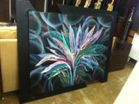 Hand Painted Wall Picture. $99. 59.5 x 98. By Ronis.