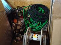 I have all kind of garden tools, hoses, limb trimmers,