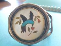 Circa 1977 - Purchased from Navajo jeweler in 1977 had