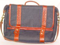 This is a gorgeous, hand made Briefcase developed to