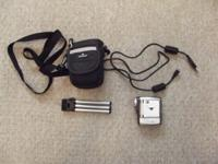 Great condition. Comes with camera, bag, USB cable, and