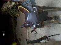 #747 Handcrafted American Saddlery Roping Saddle with