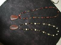 My friends necklaces are made of genuine native agate,