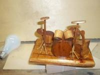 handcrafted. $15.00 for guitar & amp......$30.00 for
