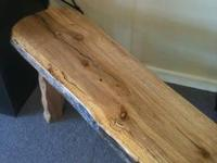 Beautiful Solid OAK benches. Only three available at