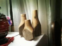 Taking orders for our Handcrafted Wooden Vases. *No 2