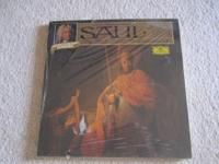 Extremely great Handel Saul 3-LP boxed set, brand name