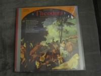 Handel's Theodora 3-record set, brand new in the box,