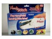I have the As Seen on TV Handheld Sewing Machine..like