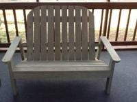 Made to order custom Adirondack furniture. Furniture is