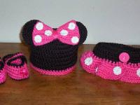Handmade Crocheted Baby Diaper Cover Sets for Photo