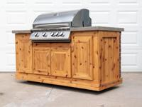 "It has a brand new built-in 32"" Summerset Sizzler grill"