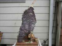 THIS IS A HAND MADE BEE HIVE .ONE OF A KIND ---- MADE