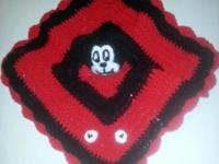 Handmade crochet Loveys (security blanket) can be made