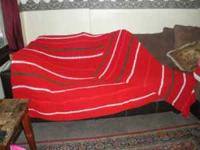 I have for sale my handmade crocheted afghans. I have