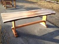Handmade wood furniture. Everything is custom made. You
