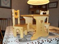 "HAND MADE DOLL FURNITURE FOR UP TO 18 "" DOLLS SUCH AS"