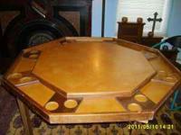 Handmade Game Table...   $90 (Troy)