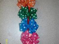 Granny has gone crazy with polka dots...we have extra's