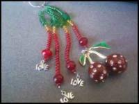 THESE ARE HANDMADE KEYCHAINS THEY ARE DURABLE AND CAN