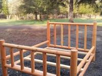 Type: FurnitureType: HandmadeHandmade log bed frames.