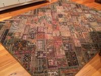 Gorgeous handmade rug Length 8ft 6in Width 6ft 4in