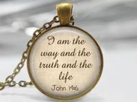 We specialize in modern Scrabble tile pendants, and