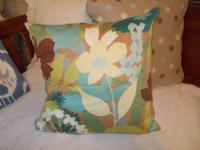 I develop quite pillows, some with brand-new fabrics