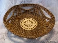 Award Winning Pine Needle Baskets make great gifts for