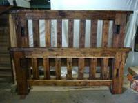 Rustic Handmade Barnwood Furniture (Baraboo) for Sale in ...