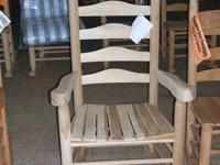 Front Deck Rocking Chairs! Handmade, Solid Woods -