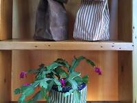 These handmade waxed bags are a fun, functional and