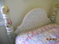 "This bed was purchased at ""The Painted Cottage"" in"