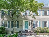 Handsome Center Hall Colonial on .33 acre in convenient