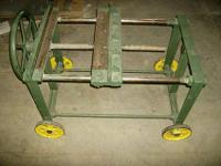 Handy Clamp on Casters Heavy duty clamp, easily moved