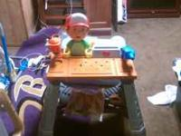 Handy Manny workbench. Like new-$40 Talking Handy