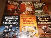 Handyman Fix It Your-Self Books   6-each all for