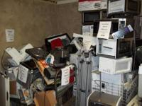 We have a pile of kitchen small appliances for parts or