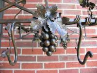 hanging Grapevine pot rack with top Grape Vine  more