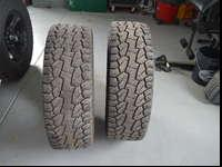 Two hankook dynapro atm 325/60/20 (35x13.00r20). 7/32