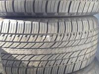 selling my hankook 265/45/20 tires less than 50 miles