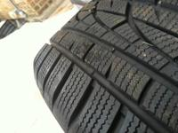 I have a set of 4 Hankook Brand WinterIntercept tires