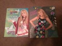FOR SALE: HAnnah Montana Folder and Sticker Book!!!