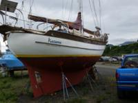 A very popular double ended full keel cutter rigged