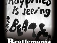 "My new book, ""Happiness is Seeing the Beatles:"