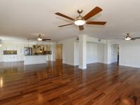 Brazilian Koi hardwood flooring throughout this 2,318
